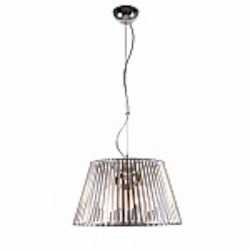 Fullerton 3 Light Stainless Steel Pendant