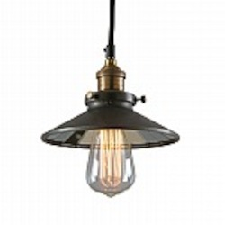 Calvin 1 Light Industrial Mini Pendant with Mirror Glass - B2101