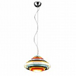 Onyx Multicolor Round Lighting Pendant - B2801