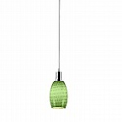 Prospect Green Glass Mini Pendant - B3101