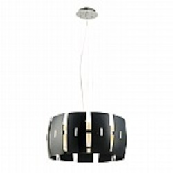 Hendrix Modern Black Lighting Pendant - B4801