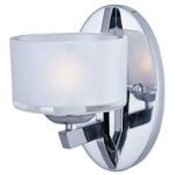 "Vortex Collection 1-Light 8"" Polished Chrome Wall Sconce E22803-09PC"