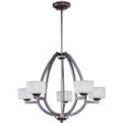 "Vortex Collection 5-Light 20"" Oil Rubbed Bronze Pendant E22805-09OI"