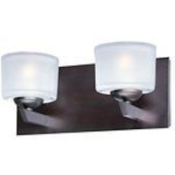 "Vortex Collection 2-Light 12"" Oil Rubbed Bronze Bath Vanity Fixture E22812-09OI"