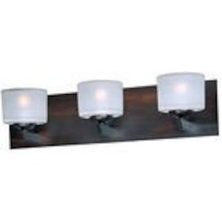 "Vortex Collection 3-Light 20"" Oil Rubbed Bronze Bath Vanity Fixture E22813-09OI"