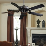 Heritage 5 Blade 54In. Indoor / Outdoor Energy Star Ceiling Fan - Blades Included