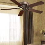 Oil Rubbed Bronze 5 Blade 54In. Indoor / Outdoor Energy Star Ceiling Fan - Blades Included