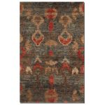 Java Collection 6' x 9' Charcoal Jute Rug 70006-6