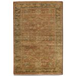 Eleonora Collection 6' x 9' Red Wool Rug 70009-6