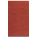 Aruba Collection 5' x 8' Red Jute Rug 71010-5