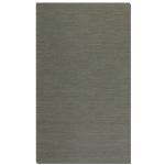 Aruba Collection 8' x 10' Gray Jute Rug 71011-8