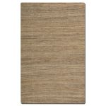 Aruba Collection 5' x 8' Brown Jute Rug 71012-5