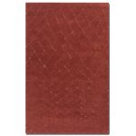 Casablanca Collection 8' x 10' Red Wool Rug 73003-8