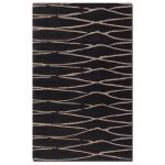 Temara Collection 9' x 12' Chocolate Wool Rug 73004-9