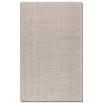 Zell Collection 5' x 8' Off White Wool Rug 73015-5