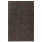 Danube Collection 5' x 8' Brown/Charcoal Viscose Rug 73017-5