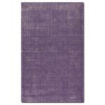 Zell Collection 5' x 8' Purple Wool Rug 73020-5