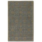 Favara Collection 8' x 10' Blue/Gray Wool Rug 73023-8