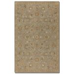 Torrente Collection 5' x 8' Gray Wool Rug 73024-5
