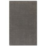 Cambridge Collection 5' x 8' Gray Wool & Viscose Rug 73028-5