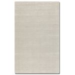 Rhine Collection 9' x 12' Gray/Silver Wool & Viscose Rug 73036-9