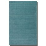 Rhine Collection 8' x 10' Blue Wool & Viscose Rug 73037-8