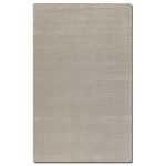 Rhine Collection 5' x 8' White Wool & Viscose Rug 73039-5