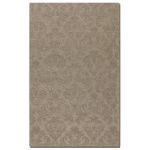 St. Petersburg Collection 5' x 8' Gray Wool & Viscose Rug 73045-5