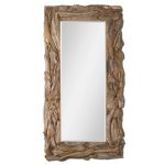 Teak Root Collection Natural Mirror 05027
