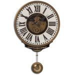 Vincenzo Bartolini Collection Cream Wall Clock 06021