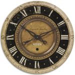 "Auguste Verdier Collection 27"" Wall Clock 06028"