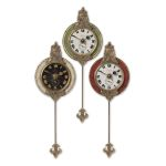 Monarch Collection Wall Clock (Set of 3) 06046