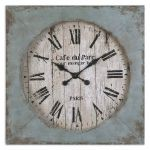 Paron Collection Square Wall Clock 06079