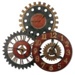 Rusty Movements Clock - 06762