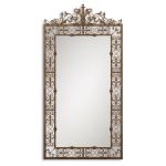 Varese Collection Distressed Brown Mirror 12764