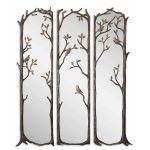 Perching Birds Collection Decorative Mirror (Set of 3) 12788