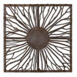 Josiah Collection Square Wooden Wall Art 13777