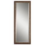 Lawrence Collection Antique Silver Mirror 14168