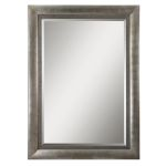 Gilford Collection Antique Silver Mirror 14207