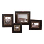 Kitra Collection Distressed Black Photo Frames, (Set of 4) 18520