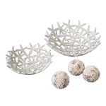 Starfish Collection Decorative Bowls W/ Spheres (Set of 5) 19557