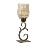 Sorel Collection Small Metal Candleholders, (Set of 2) 19560