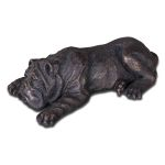 Nap Time Collection Cast Iron Puppy Figurine 19632