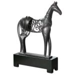 Tanith Collection Metal Horse Sculpture 19648