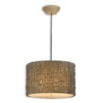 Knotted Rattan Collection 3-Light 19