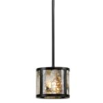 Coslada Collection 1 Light Marble Mini Pendant 21952