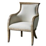 Quintus Collection Linen Armchair 23080
