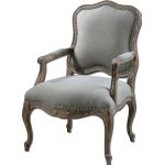 Willa Collection Steel Gray Armchair 23095