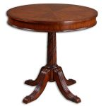 Brakefield Collection Pecan Round Table 24149