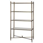 Henzler Collection Mirrored Glass Etagere 24277